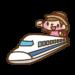 ハローキティ新幹線の編成は?1号車と2号車は特別仕様の内装です